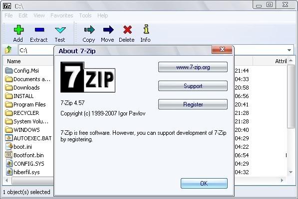 7-Zip - Download miglior programma per archiviazione e compressione file gratis