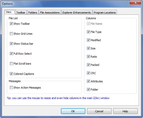 IZarc - Download miglior programma gratis per archiviazione e compressione file