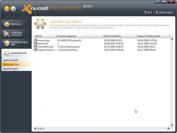 avast Free Antivirus - Antivirus gratuito con protezione anti-spyware - Miglior antivirus free per windows