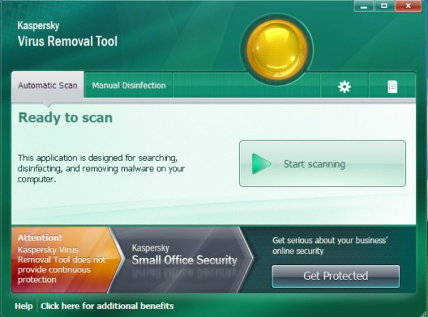 Antivirus Free per Windows - Kaspersky Virus Removal Tool
