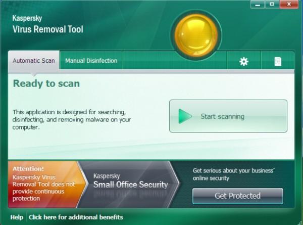 Antivirus Free per Windows - Kaspersky Virus Removal Tool