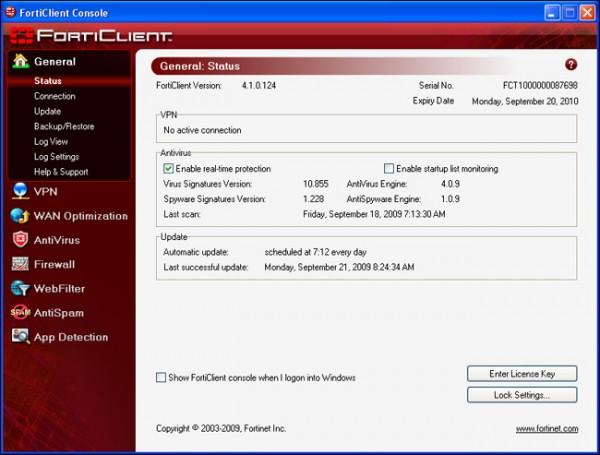 Antivirus Gratis - Miglior Antivirus Free per PC Windows - Forticlient Endpoint Security Standard