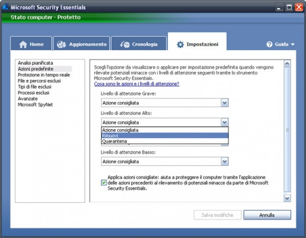 Antivirus gratis in italiano per sempre free - Miglior antivirus gratuito per Windows XP Vista e Windows 7 2013