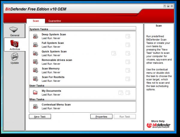 BitDefender Antivirus Free Edition 2013 - Download Gratis Programma Antivirus Free per Windows - Miglior Antivirus Free 2013