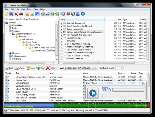 CDBurnerXP - Download programmi masterizzare gratis - I migliori programmi gratuiti per masterizzare CD e DVD