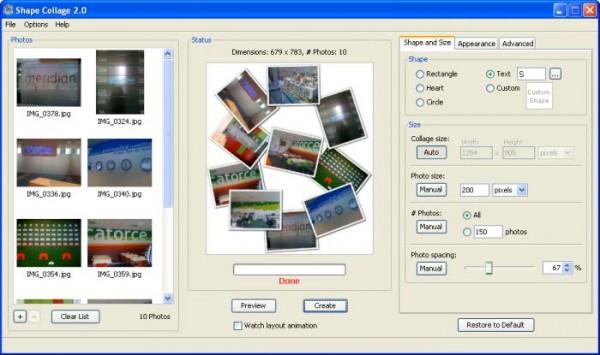 Creare collage di foto e composizioni di immagini - software free creare collage foto - come fare collage di foto gratis