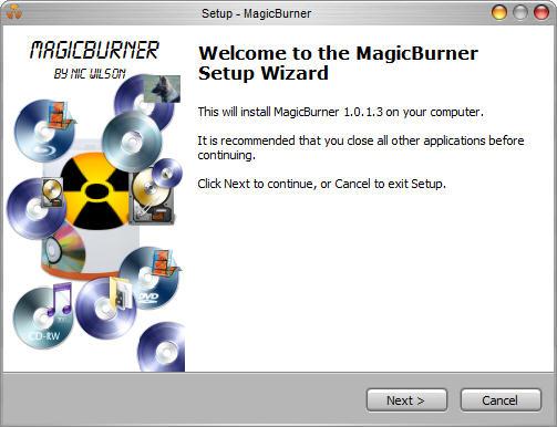 Masterizzare CD e DVD gratis - MagicBuner programma free per masterizzare musica e film su cd e dvd