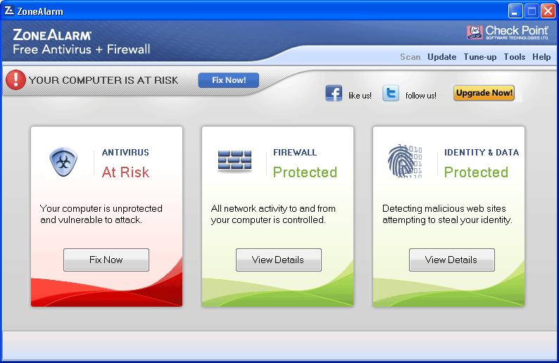 Miglior antivirus gratis 2013 - Miglior firewall gratis 2013 - ZoneAlarmFree Antivirus + Firewall 2013