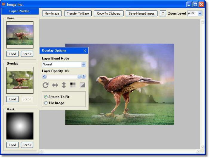 Programma per sovrapporre foto gratis - ImageInc