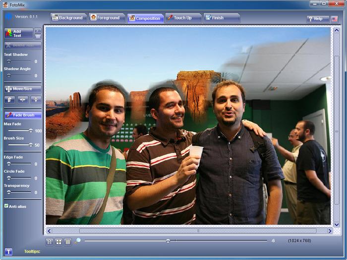 Programmi per modificare foto gratis - FotoMix