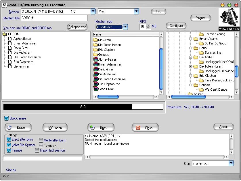 Un buon programma per masterizzare CD audio e DVD video - Miglior programma masterizzazione gratis - download scarica programma masterizzare free