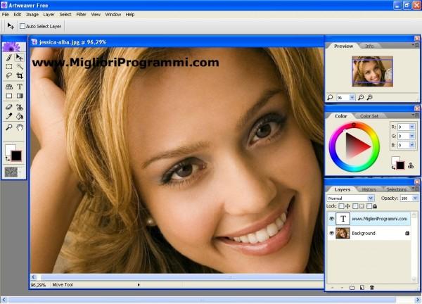 programma di disegno gratis al computer - programma gratis per modificare foto e immagini