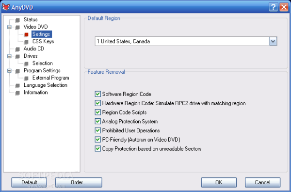AnyDVD - Miglior programma per copiare CD e DVD protetti CSS
