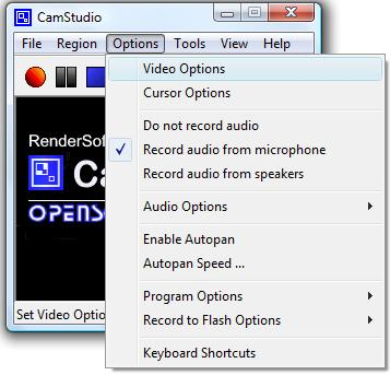 Cam Studio - Miglior programma per cattura video dal desktop PC