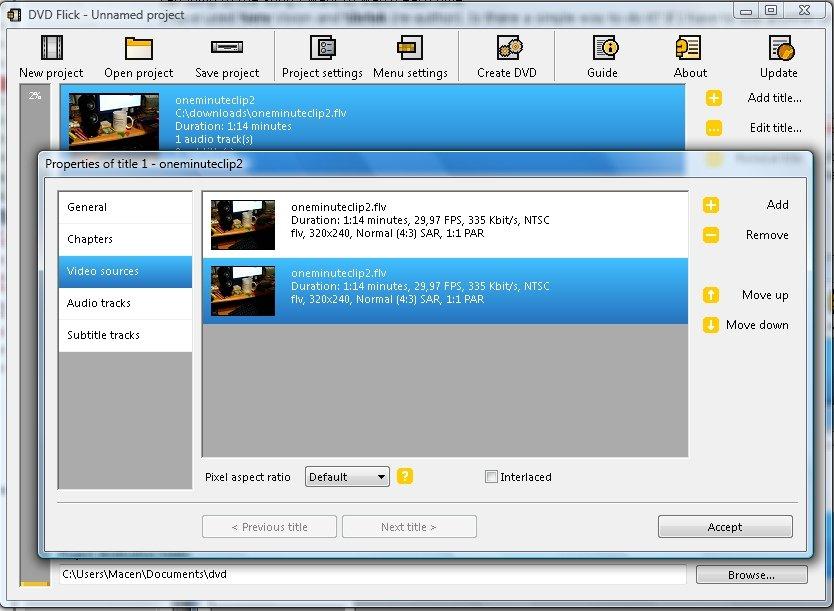 programma per convertire dvx in dvd