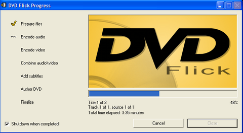 DVD Flick - Miglior programma per creare dvd video con menu gratis - Programma per Convertire tra formati video