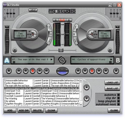Download D-Lusion MJ Studio gratis - Miglior programma per mixare canzoni musica MP3 semplice sul PC gratis