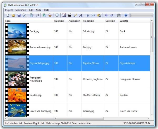 Download DVD slideshow GUI - Scaricare download miglior programma gratis per fare video con foto e musica sottofondo