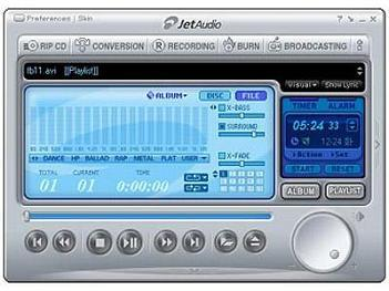 Download JetAudio Basic - player audio programma di conversione audio e mixer musica per DJ