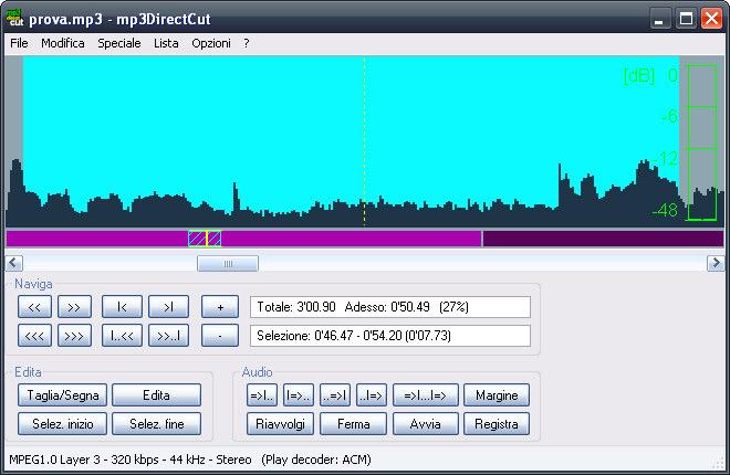 Download miglior Programma per tagliare canzoni MP3 gratis - mp3directcut - Come tagliare musica MP3