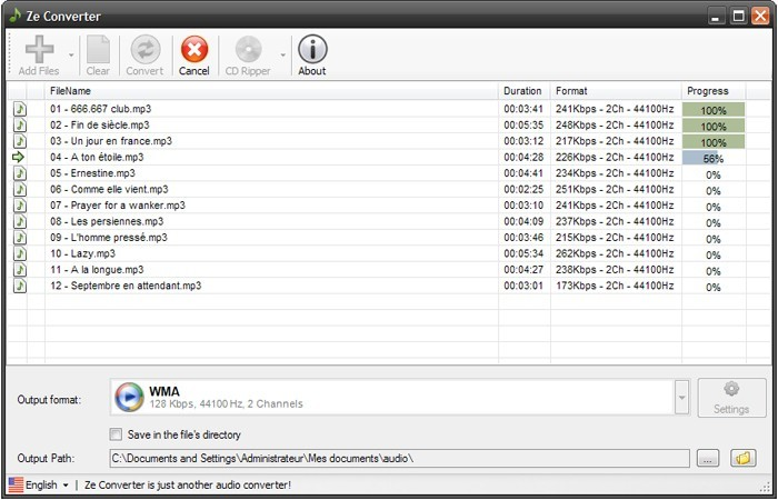 Download miglior programma conversione audio mp3 - Download Ze converter - conversione audio
