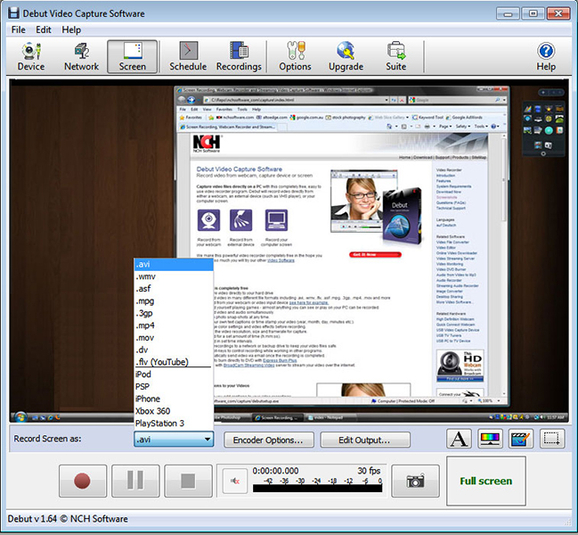 Download miglior programma per registrare video da webcam o desktop PC - Debut video captue