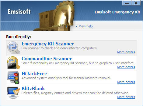Emsisoft Emergency Kit - download miglior antispyware gratis per Windows