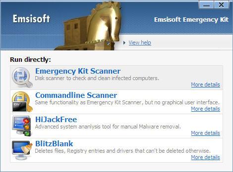 Emsisoft Emergency Kit - download miglior antispyware gratis per Windows