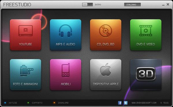 Free Studio - Download Free Studio suite Dvdvideosoft - programmi per conversione video e audio gratis