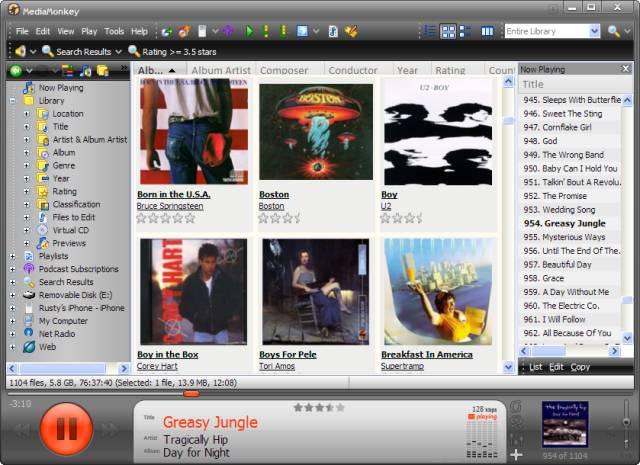Miglior programma per organizzare e catalogare musica e file audio gratis - Mediamonkey Free Download gratis