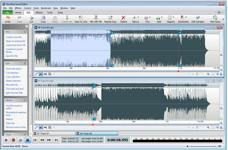 Programma per modificare musica audio MP3 - Miglior programma per editare tracce audio MP3 gratis