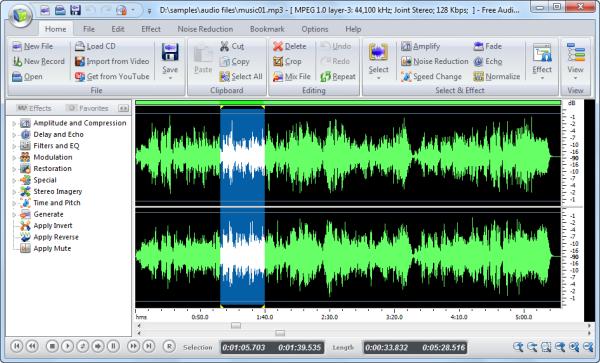 Programma per registrare audio su computer PC - Download miglior programma per modificare musica e file audio MP3