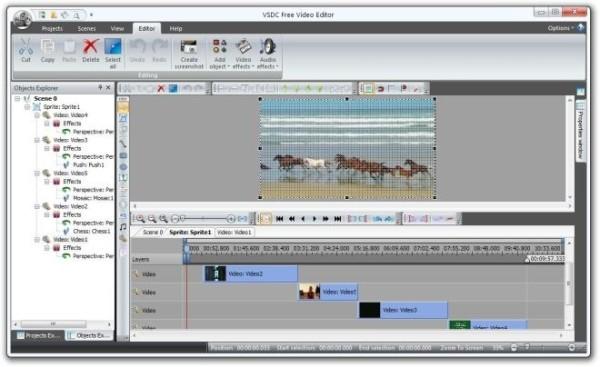 VSDC Free Video Editor - Programma per editare video gratis - Download miglior programma per montare video gratis