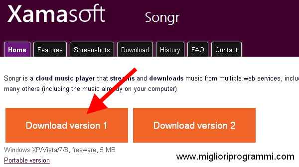 Download Songr - Guida per scaricare musica mp3 gratis con Songr