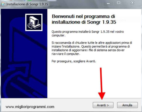 Guida Songr - Come scaricare musica gratis con Songr