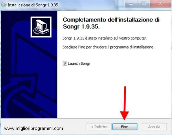 Guida Songr - Programma per scaricare musica gratis da internet