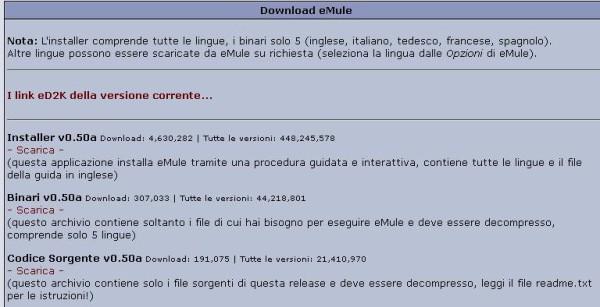 Guida eMule - Come scaricare musica film giochi programmi e foto gratis con eMule