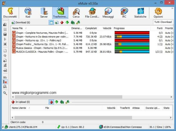 Guida eMule - Come scaricare musica film giochi programmi e foto gratis con eMule foto-13