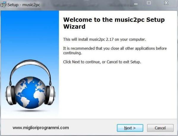 Guida music2pc - Guida programma per scaricare musica gratis da internet
