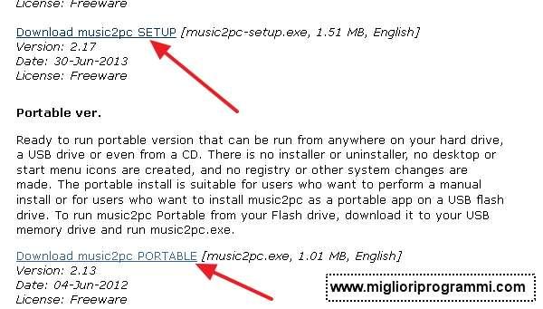 Guida per scaricare musica gratis con music2pc - Miglior programma per scaricare musica mp3 gratis