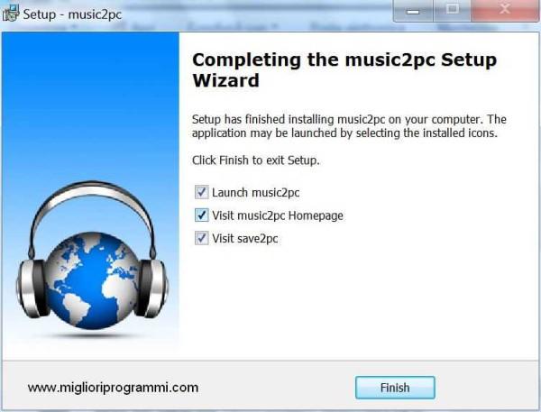 Tutorial music2pc - Tutorial come scaricare mp3 da internet con music2pc