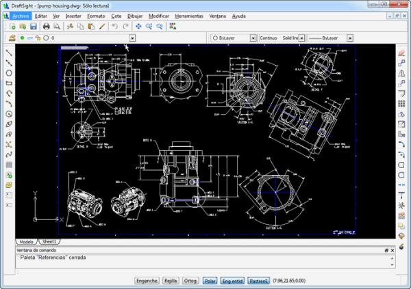 DraftSight - programma gratis CAD 2D - alternativa gratuita AutoCAD