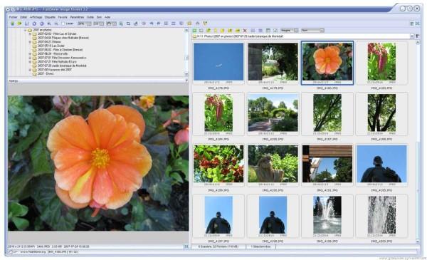 FastStone Image Viewer - programma gratis per organizzare e visualizzare le foto salvate sul computer PC