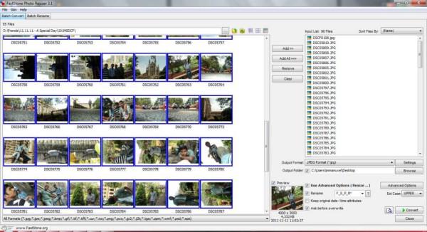 FastStone Photo Resizer - programma gratis per convertire rinominare e ridimensionare foto in blocco batch