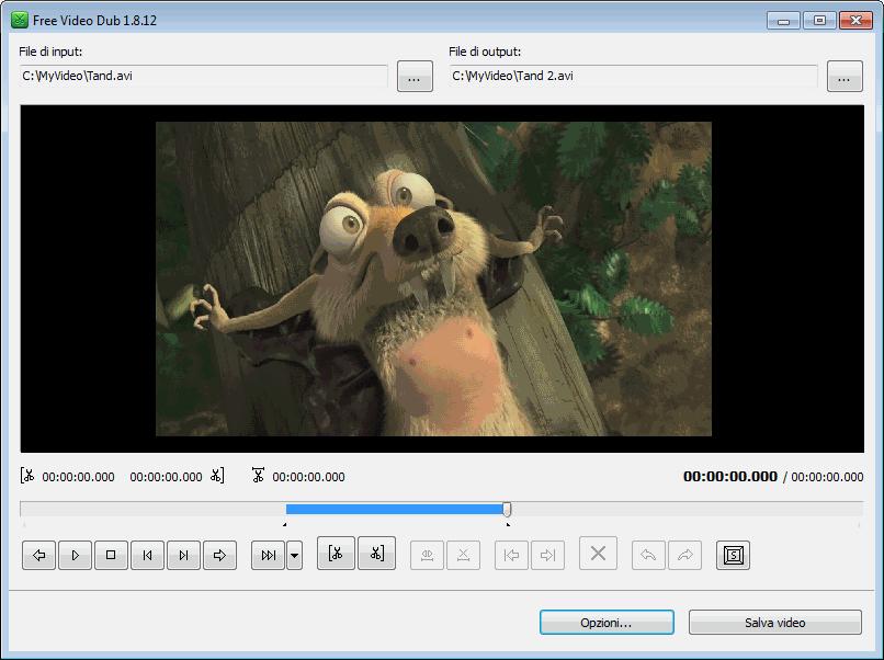 Free Video Dub - download miglior programma per tagliare video gratis - programma free per modificare video