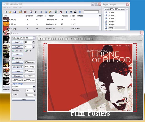Guida passo passo per creare DVD video con foto musica effetti speciali e scritte con DVD SlideShow GUI