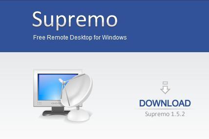 SupremoFree - miglior programma per controllare gestire e comandare un computer PC a distanza da remoto