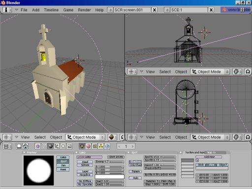 Blender - Download miglior programma di modellazione rigging animazione compositing e rendering di immagini tridimensionali